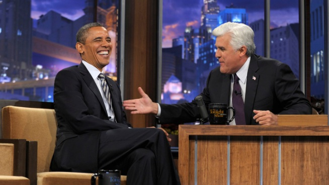 "Obama to Take Campaign to ""Tonight Show"" Wednesday"