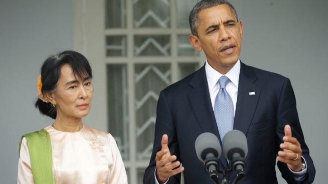 "Obama to People of Myanmar: America ""Is With You"""