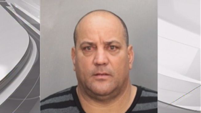 Hector Ramirez, 49, is facing a charge of providing false information on a crash report related to the accident that happened Monday afternoon, Miami Police spokesman Det. Willie Moreno said.