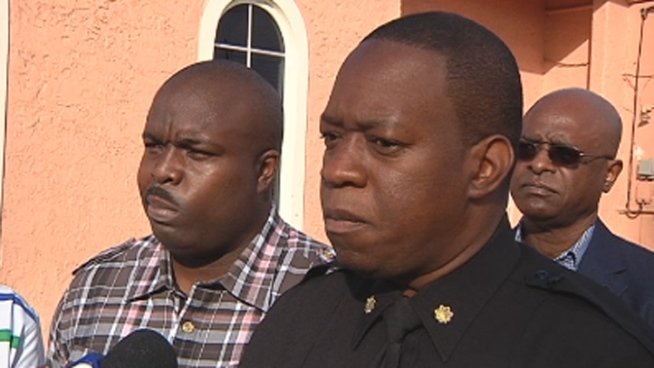 It has been a violent week in Miami Gardens, but community leaders and victims spoke out to stop the violence at New Beginning Missionary Baptist Church Wednesday. Resident Larrie Lovett, Miami Gardens Police Major Alfred Lewers and church Pastor Eric Readon spoke about the issue.