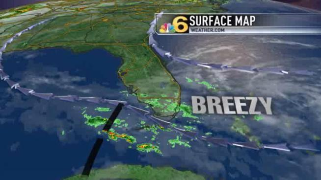 More dry and mostly cloudy intervals today, but spotty showers persist.  Meteorologist Shiri Spear has the local forecast.