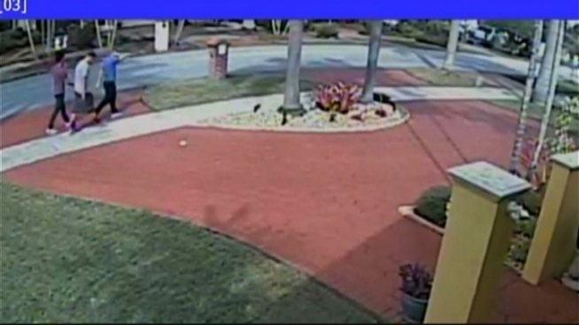 Miami-Dade Police are looking for a group of teen burglars who were caught on video stealing thousands of dollars worth of jewelry from an elderly man's home.