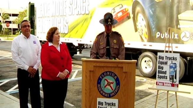 The Florida Highway Patrol is cracking down on aggressive driving on state roads. From March 30 to April 4, FHP plan to keep an extra watchful eye on how South Florida drivers share the roads with commercial vehicles like 18 wheelers and will ticket drivers who follow too closely, make unsafe lane changes or speed.