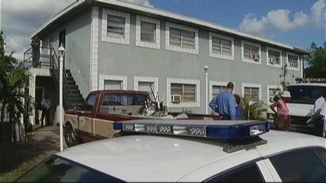 Authorities were investigating a suspicious death in Deerfield Beach Friday afternoon after a woman was found dead in her apartment, the Broward Sheriff's Office said. NBC 6 South Florida spoke with Vincent Pressley who said he found the woman dead on her bed.