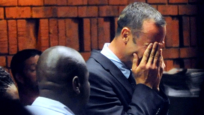 Weeping Pistorius Faces Life in Prison in Shooting