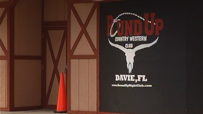 A mother and daughter were arrested after a ladies' night at the Round Up bar, but witnesses David Baez and Danny Uncao said that excessive force was used in a Davie Police officer's arrest of Nicole Pino in the parking lot. Michael Frost, who is one of the owners of the Round Up, and Davie Police spokesman Capt. Dale Engle addressed the incident in statements, and attorney Joseph Lackey spoke on behalf of his clients, Nicole Pino and her mother Vivian.