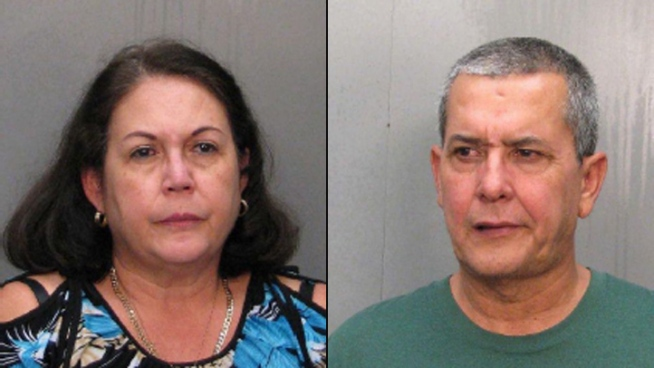 A South Florida couple has been arrested on charges they practiced healthcare without a license, or illegally performed butt enhancements. NBC 6 reporter Myriam Masihy spoke to the couple's neighbor Diego Delrio and Hialeah police spokesman Carl Zogby.