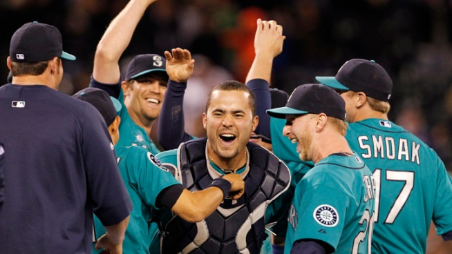 Mariners Combined No-Hitter vs. Dodgers