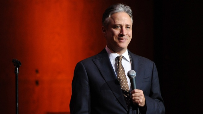 "Jon Stewart Likens Romney's Old Company to ""Batman"" Supervillain"