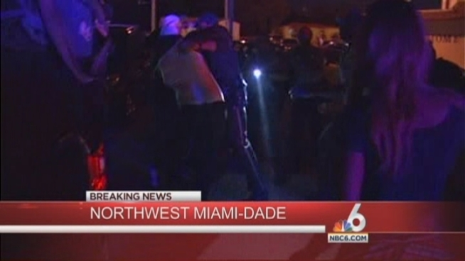 Miami-Dade police are investigating a weekend dispute that left one man dead and another wounded, officials said early Saturday.