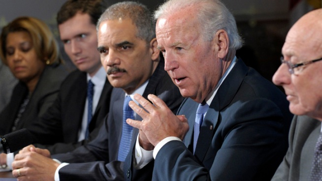 Biden, NRA Clash Over New Gun Control Proposals