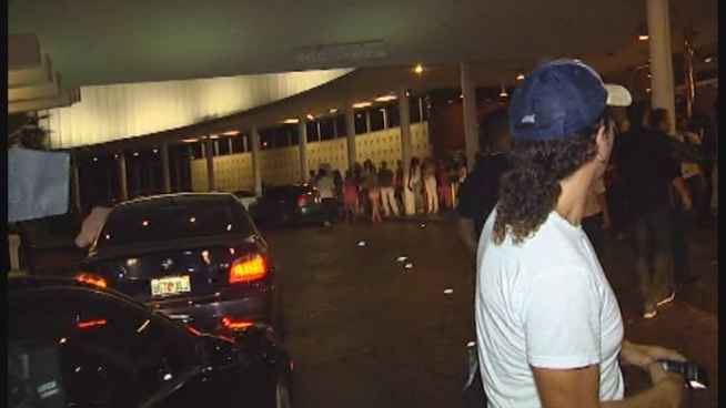 Miami Heat players celebrate their 2012 NBA Championship into the wee hours Friday at Miami Beach's Club LIV.