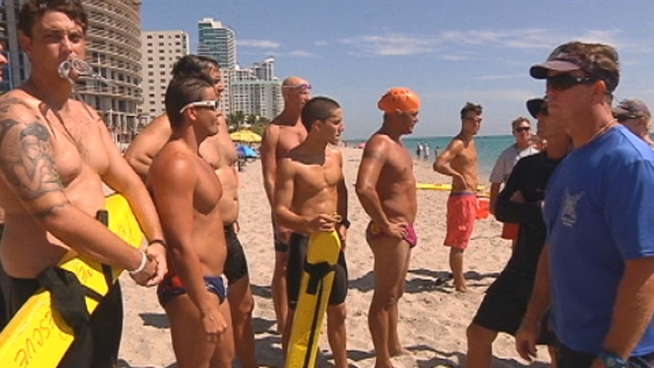 Change is coming to Hallandale Beach in the form of new lifeguards. On Monday, the city tested candidates for the job, who will no longer be employed through Jeff Ellis Management. Mayor Joy Cooper told NBC 6 the change is the result of the firing of lifeguard Tomas Lopez for leaving his zone to help rescue a struggling swimmer.