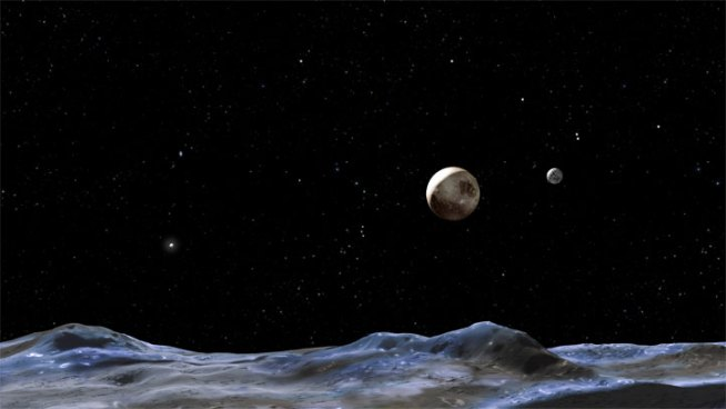 Astronomers Launch Contest to Name Pluto's Moons