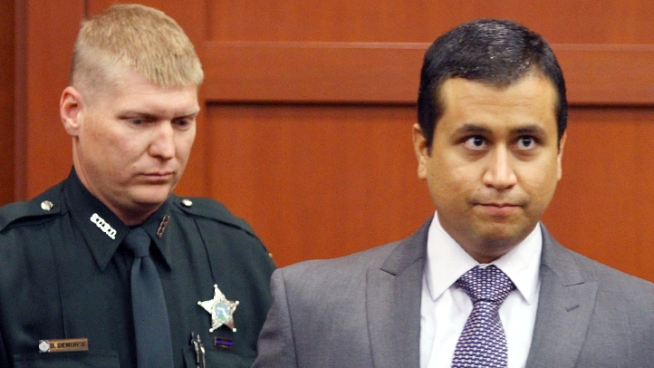 George Zimmerman's second bond hearing on Friday was like a mini-trial, with his father, a probation officer, an EMT who treated him, and an accounting expert all testifying. Listen to some of the exchanges involving defense attorney Mark O'Mara and Circuit Judge Kenneth Lester Jr., and forensic accountant Adam Magill and prosecutor Bernie de la Rionda.