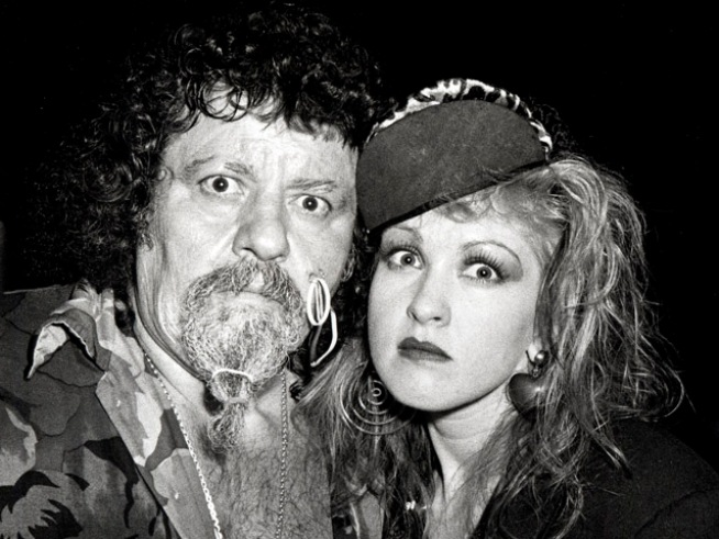 "Cyndi Lauper Remembers Late Wrestler ""Captain"" Lou Albano"