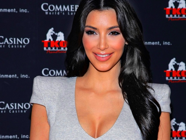Kim Kardashian Clears Up Engagement Rumors