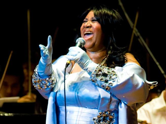 "Aretha Franklin Says Her Health Is ""Superb"""