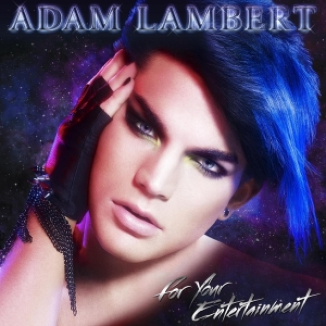 Check It: Adam Lambert's New Glam Album Cover