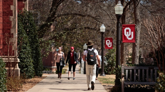Anti-Black Lives Matter Protesters Taken Off Oklahoma University Campus