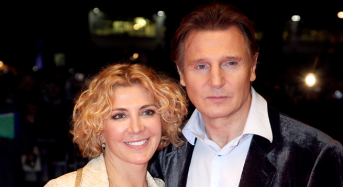 Neeson's First Role After Wife's Death is Titan-ic