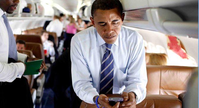 Obama Gets Daily Prayers via BlackBerry