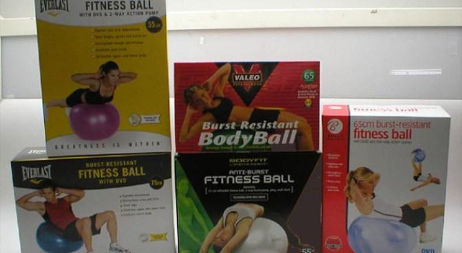 Beware of Bursting Fitness Balls