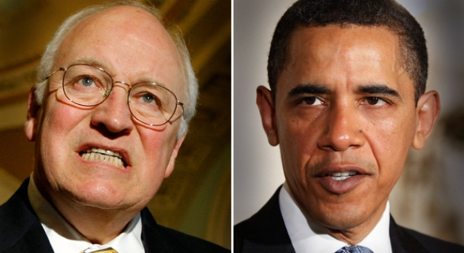 Obama v. Cheney: Just the Facts