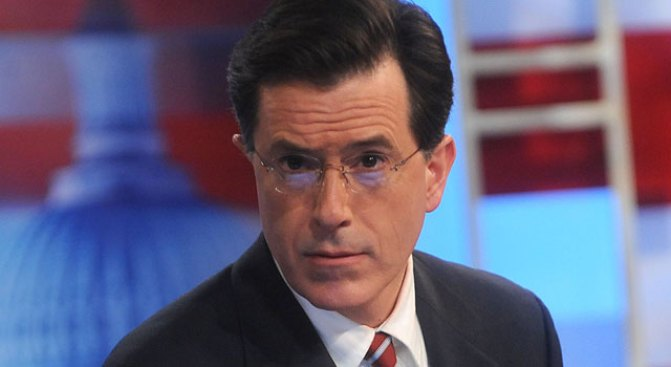 """Colbert Brings """"Truthiness"""" to Baghdad"""