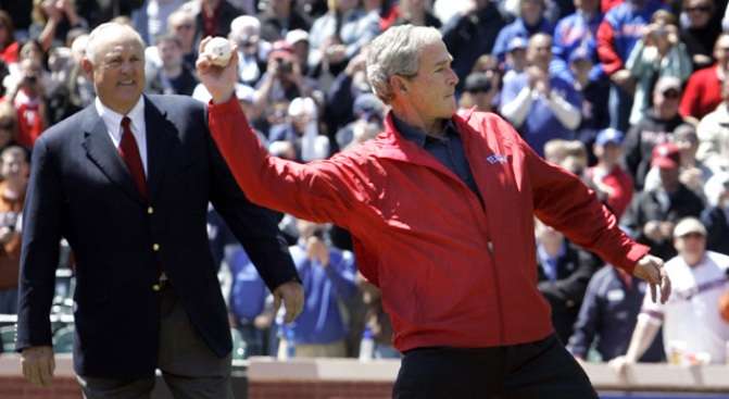 First Pitch: Bush Still Has Good Form