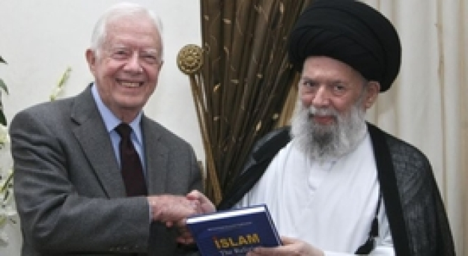 Jimmy Carter to Meet With Hamas Leaders