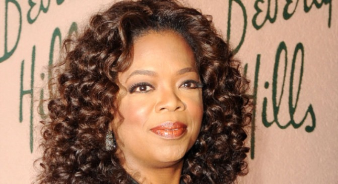Media Duchess Oprah Gets Crowned by Duke