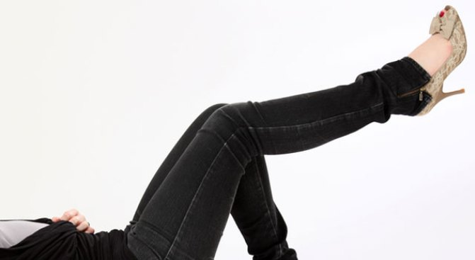 Jeans + Leggings = Please Don't Ever Wear These
