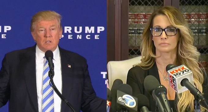 Adult film star Jessica Drake says Trump offered her $10000 for sex