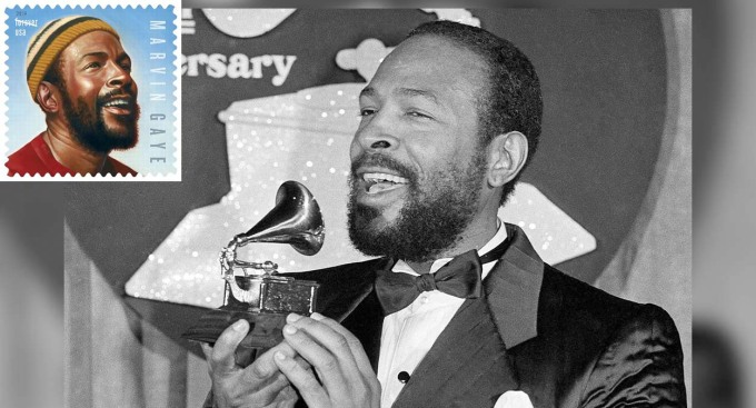 Have You Heard This Through the Grapevine? The Marvin Gaye Stamp is Available