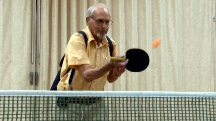95-Year-Old Ping Pong Champ