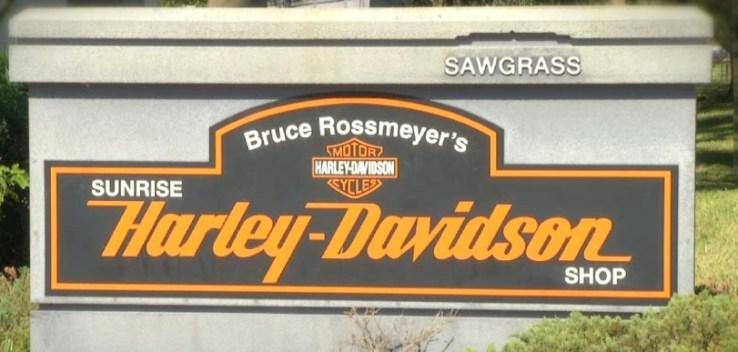 Inside Bruce Rossmeyer's Harley Davidson