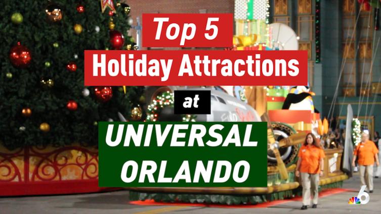 Top 5 Holiday Attractions at Universal Orlando