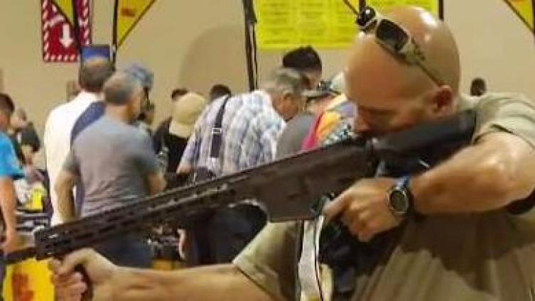 Miami Gun Show Is On Despite Mass Shooting