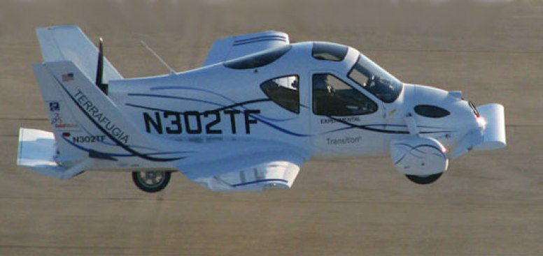 The Transition Car-Plane: Not a Delorean, But It Flies