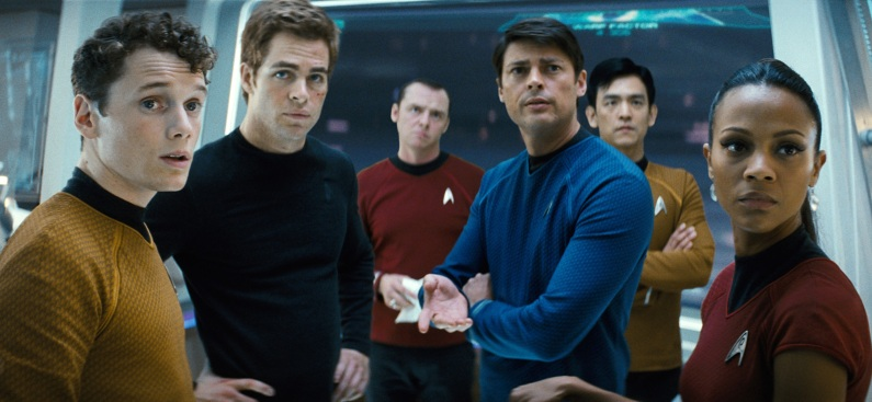 "New ""Trek"" Crew Light-Years Beyond ""Hailing Frequencies"""