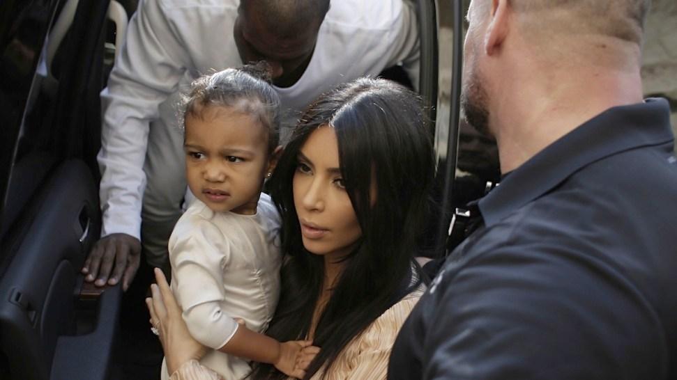 Kim Kardashian, Kanye West Have Daughter North Baptized in Jerusalem