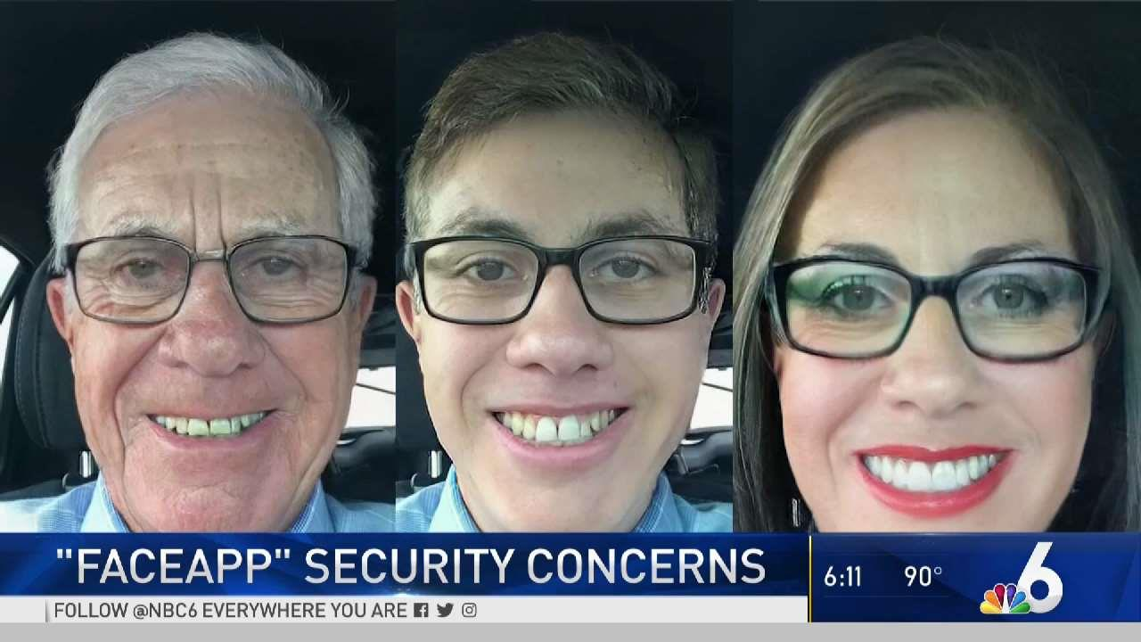 Viral 'FaceApp' Comes With Security Concerns